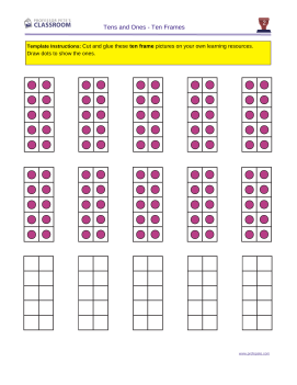 first grade math worksheets place value tens ones 2 | Worksheets ...
