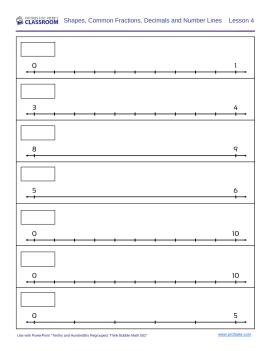 Tenths Hundredths Worksheet B