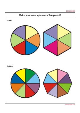 professor pete s classroom probability spinner make your own