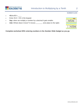Division Worksheets : decimal multiplication and division ...