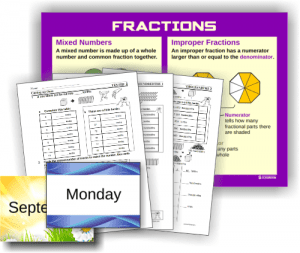 K-6 mathematics resources from Professor Petes Classroom
