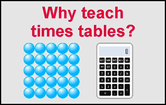 teach times tables