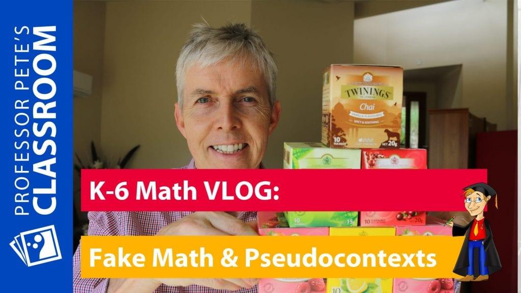 Fake Math and Pseudocontexts