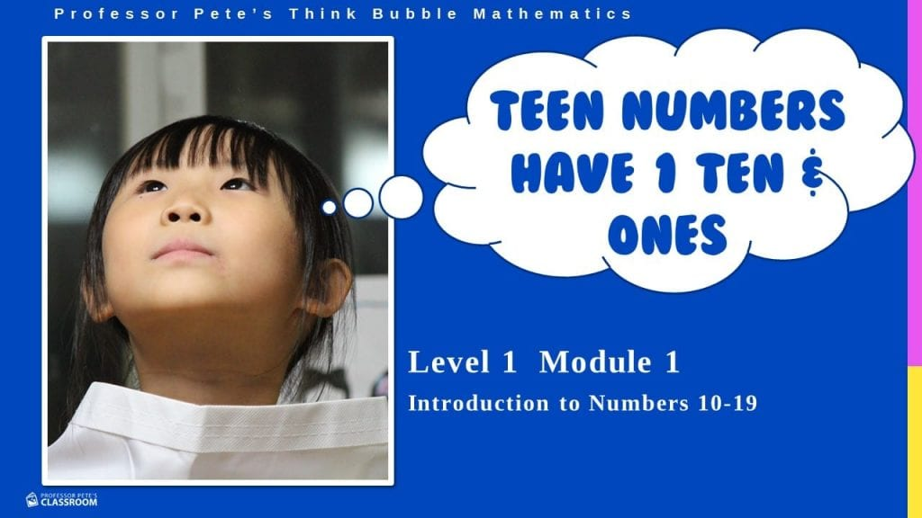 Think Bubble Math 101: Teen Numbers